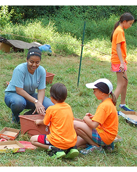 Archaeology activity in Historic Brookeville