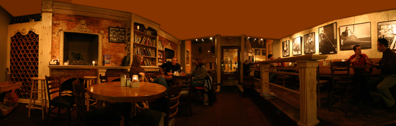 49 West Coffeehouse interior