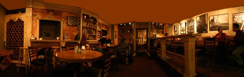 49 West Coffeehouse interior