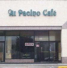 Al Pacino Cafe Pikesville