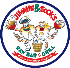 Jimmie & Sook's Raw Bar and Grill logo