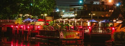 Waterside dining at Market Street Inn