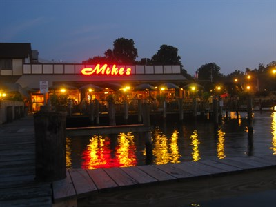 Mike's Crab House exterior view