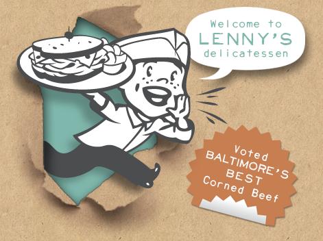 Lenny's Deli Harborplace logo