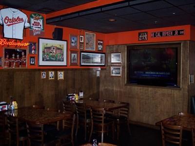 Big Bats Café interior