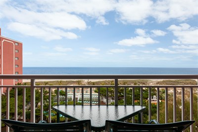 Holiday Inn Oceanfront balcony view