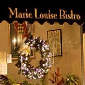 Marie Louise Bistro interior view signage