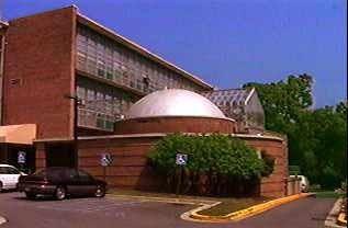 Montgomery College Planetarium exterior