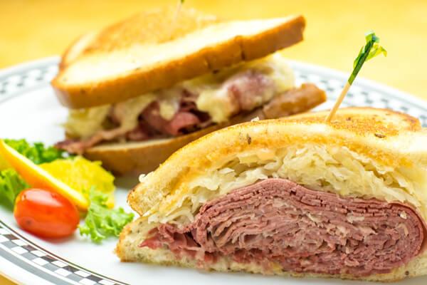 Suburban House Reuban sandwich