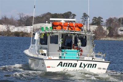 Anne Lynn II ready for a great day on the Bay