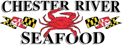 Chester River Seafood logo.