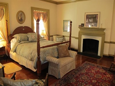 Guest room at the Chanceford B&B