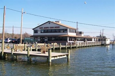 Captain John's Crabhouse on the water complete with marina