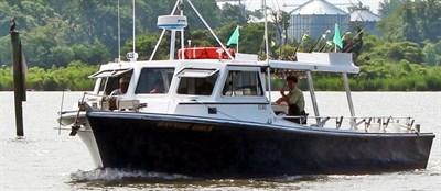 Capt. Chuck Clark Charter Boat.