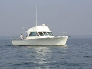 Enjoy fishing aboard Hooked Up II.