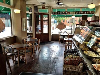 Interior of Crabapples New York Delicatessen.