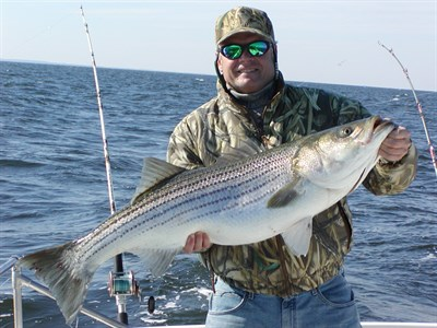 Man charter fishing
