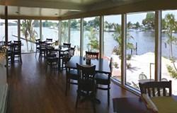 Inside the Restaurent are lovely waterviews