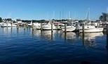 Boat Slips at Ventnor Marina.