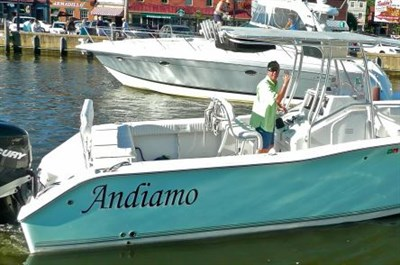 "Join Captain Kevin ""Doc"" Strother onboard the Andiamo"