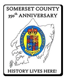Somerset County Tourism 350th logo