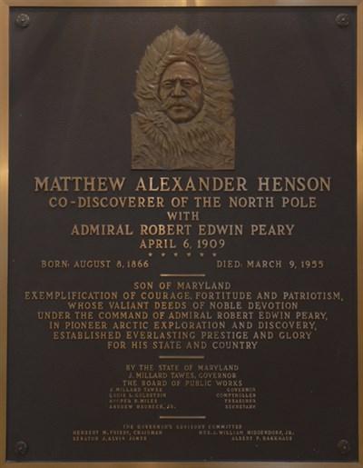 Matthew Henson Plaque