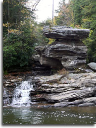 Rock gorges at Swallow Falls State Park