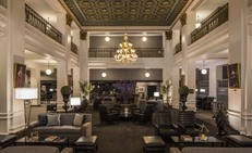 Lobby at Lord Baltimore Hotel