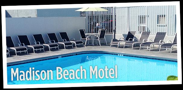 Madison Beach Motel pool view