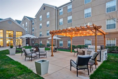 Homewood Suites by Hilton-BWI courtyard