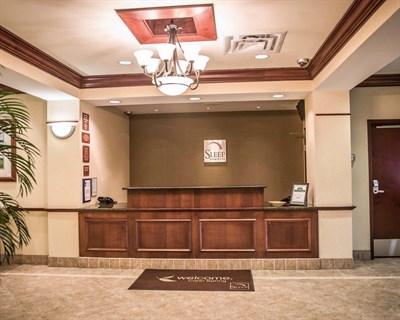 Sleep Inn & Suites-Clear Spring interior lobby