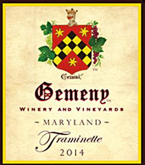 Gemeny Winery and Vineyard logo