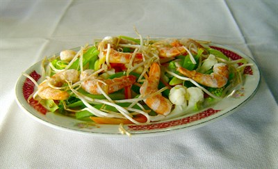 Chinese shrimp dish
