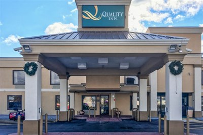 Quality Inn-Catonsville exterior