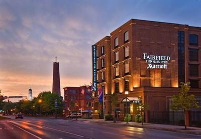 Fairfield Inn & Suites-Baltimore Downtown/Inner Harbor exterior night view