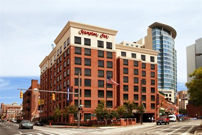 Hampton Inn-Baltimore Downtown/Convention Center exterior view