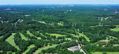 Bowie Golf and Country Club aerial view