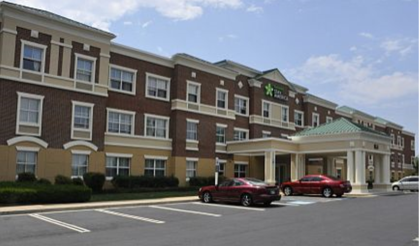 Extended Stay America-Gaithersburg South exterior view