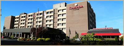 Ramada Plaza Hotel-Hagerstown exterior view