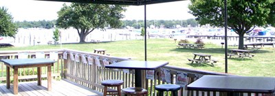 Triton Bar and Grill outside view