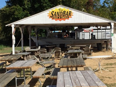 Sandbar at Rolph's Wharf