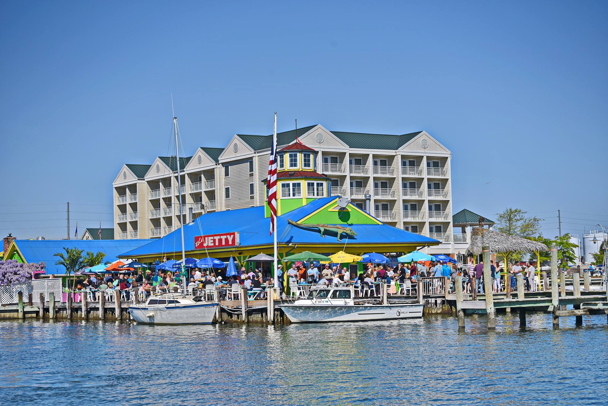 The Jetty: Restaurant and Dock Bar exterior view