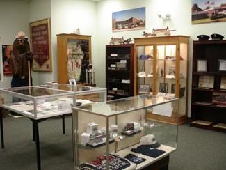 Gaithersburg-Washington Grove Fire Museum interior view