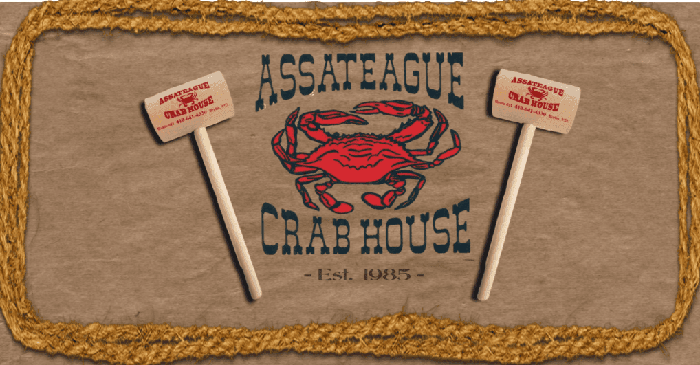 Assateague Crab House signage