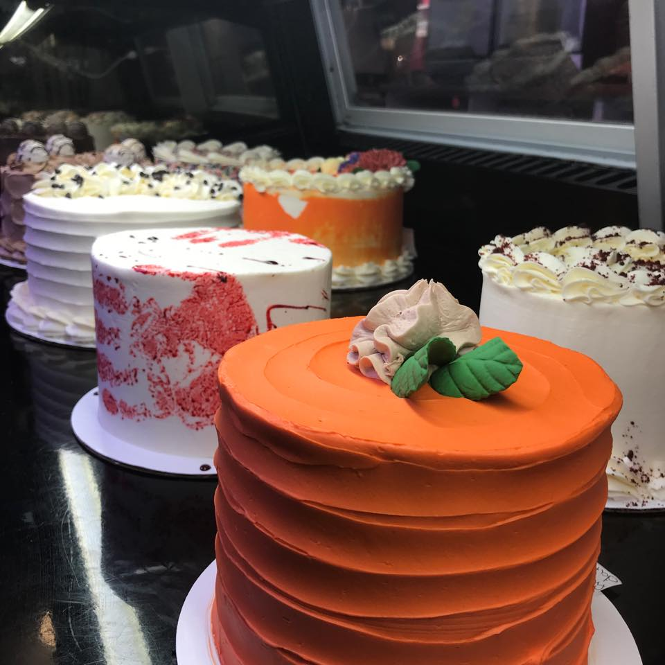 Variety of cakes by LaCakerie