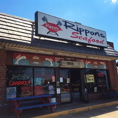 Rippons Seafood exterior view