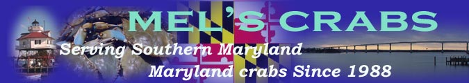 Mels Crabs banner