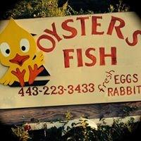VanAlstine Seafood & Farm signage