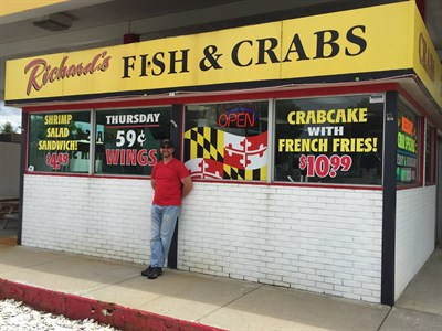 Richards Fish and Crabs