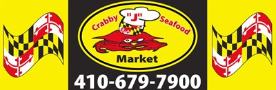 Crabby J's Seafood Market logo